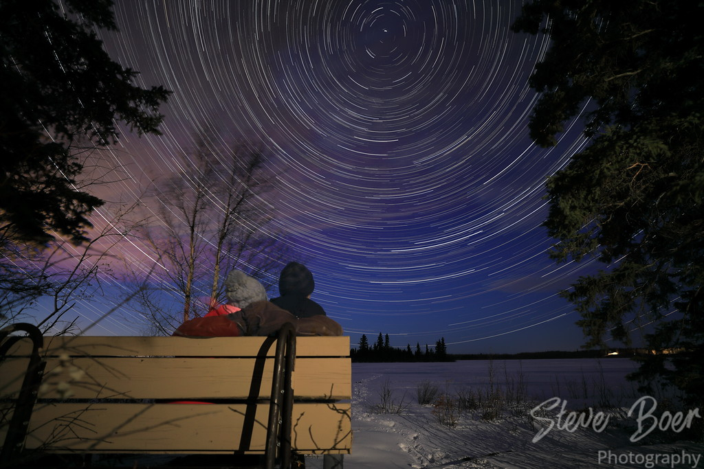 Elk Island Star Trail