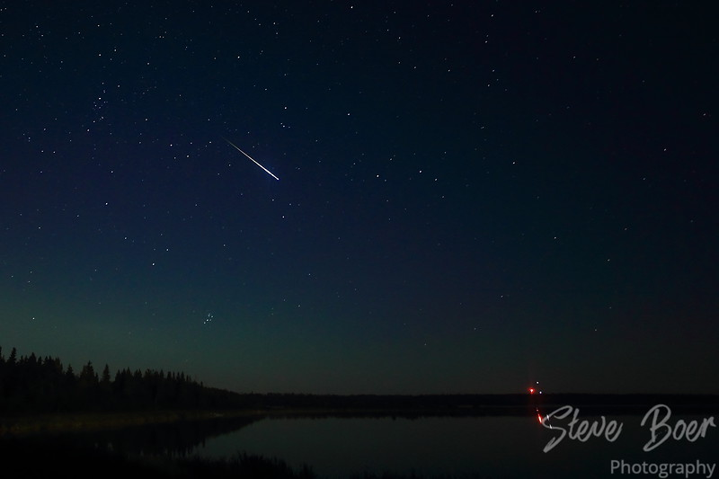 Perseid meteor shower August 12, 2016