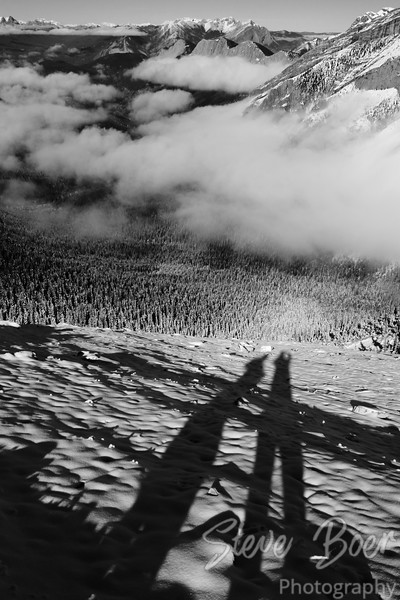 Shadows from the Summit