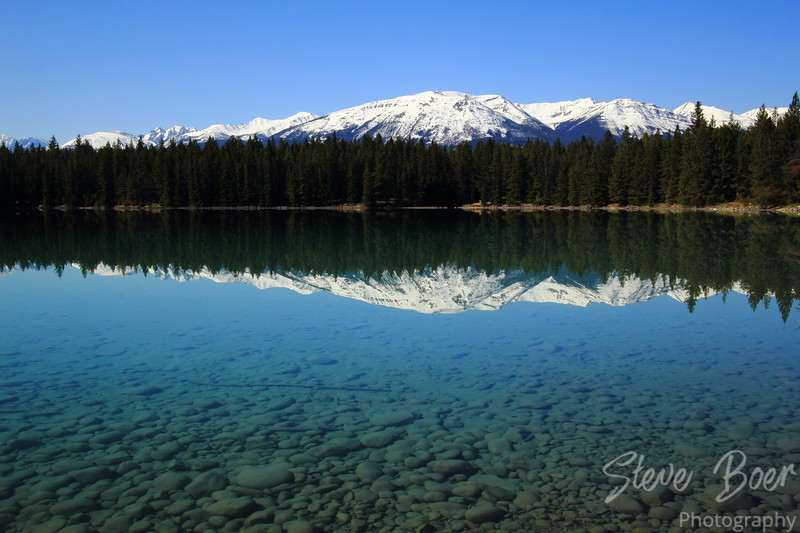 Annette Lake Reflection