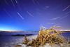 Big Lake star trail