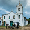 Colonial church in Paraty