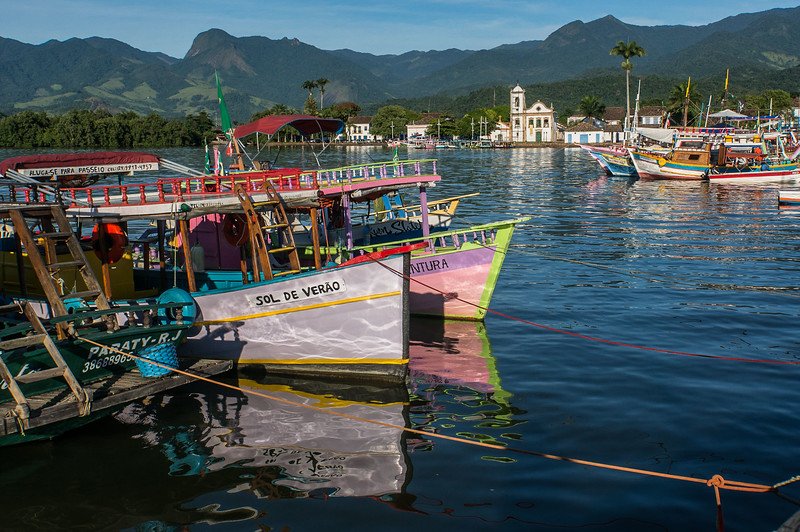 Colonial town of Paraty