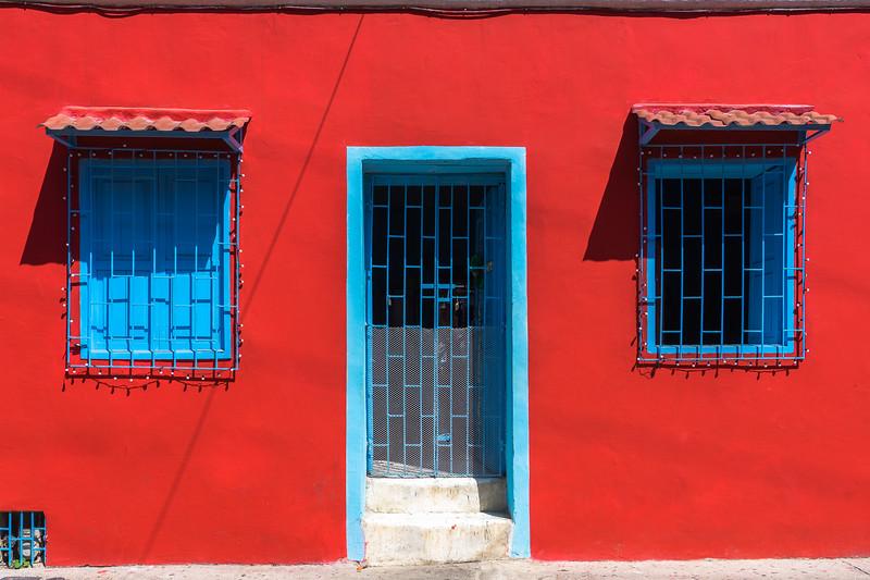 Getsemani colourful house