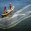 Net fishermen near Barranquilla