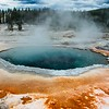 Basin in Yellowstone National park.