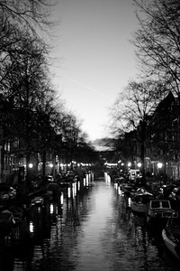 canal after dark