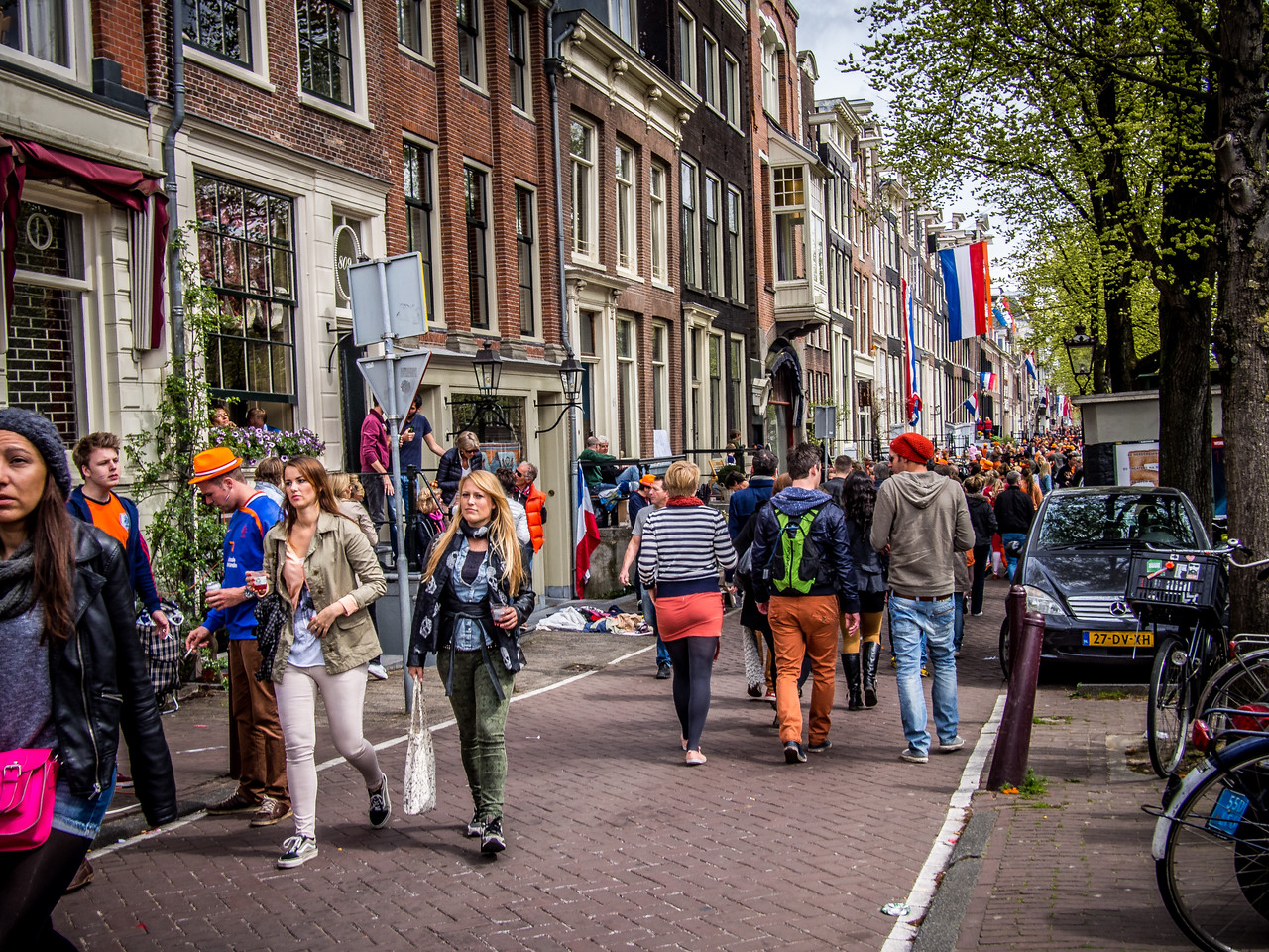 Queen's Day in Amsterdam 2013