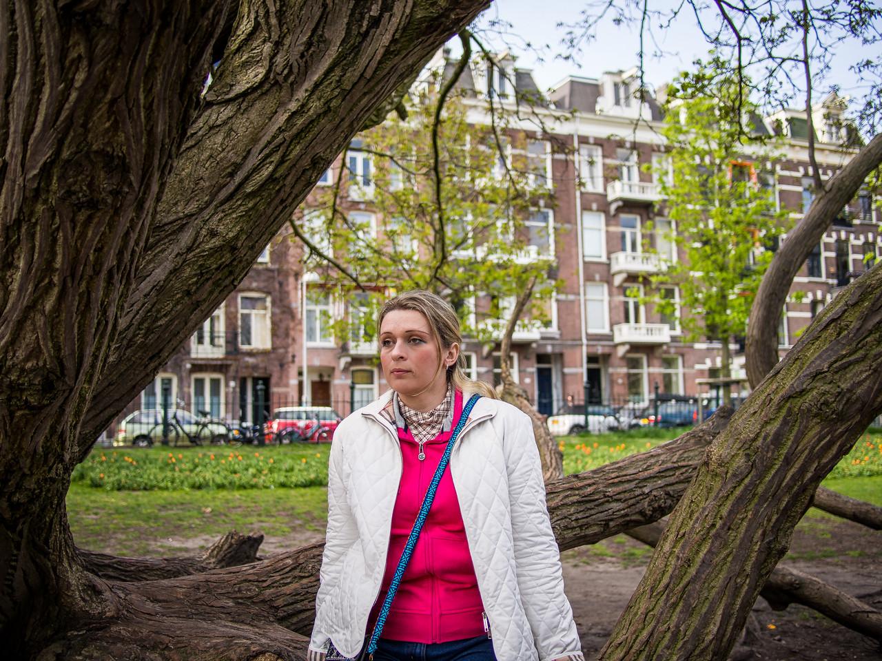 Alina in Amsterdam