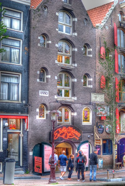 Erotic Museum in Amsterdam
