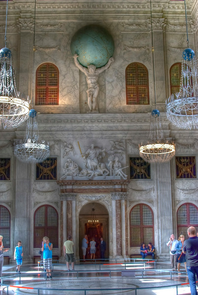 Inside Royal Palace of Amsterdam