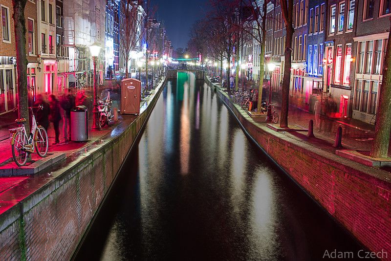 The Red Lights of Amsterdam