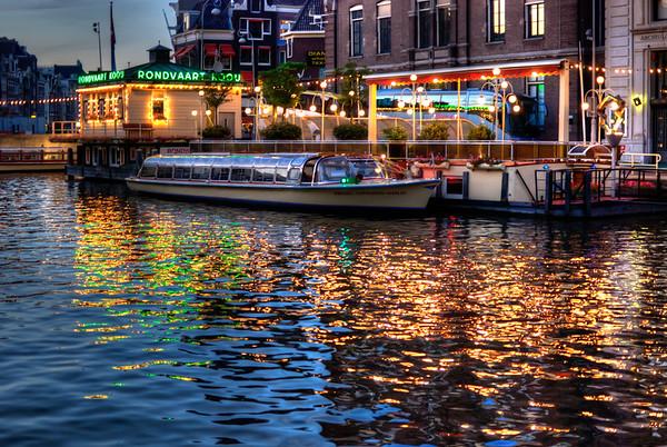 Amsterdam in pseudo HDR