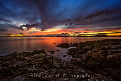 September Sunset, Anacortes, WA