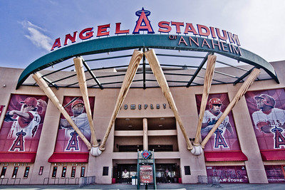 Home of the World Champion Anaheim Angels