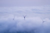 Estrecho de Gibraltar. Aerogeneradores