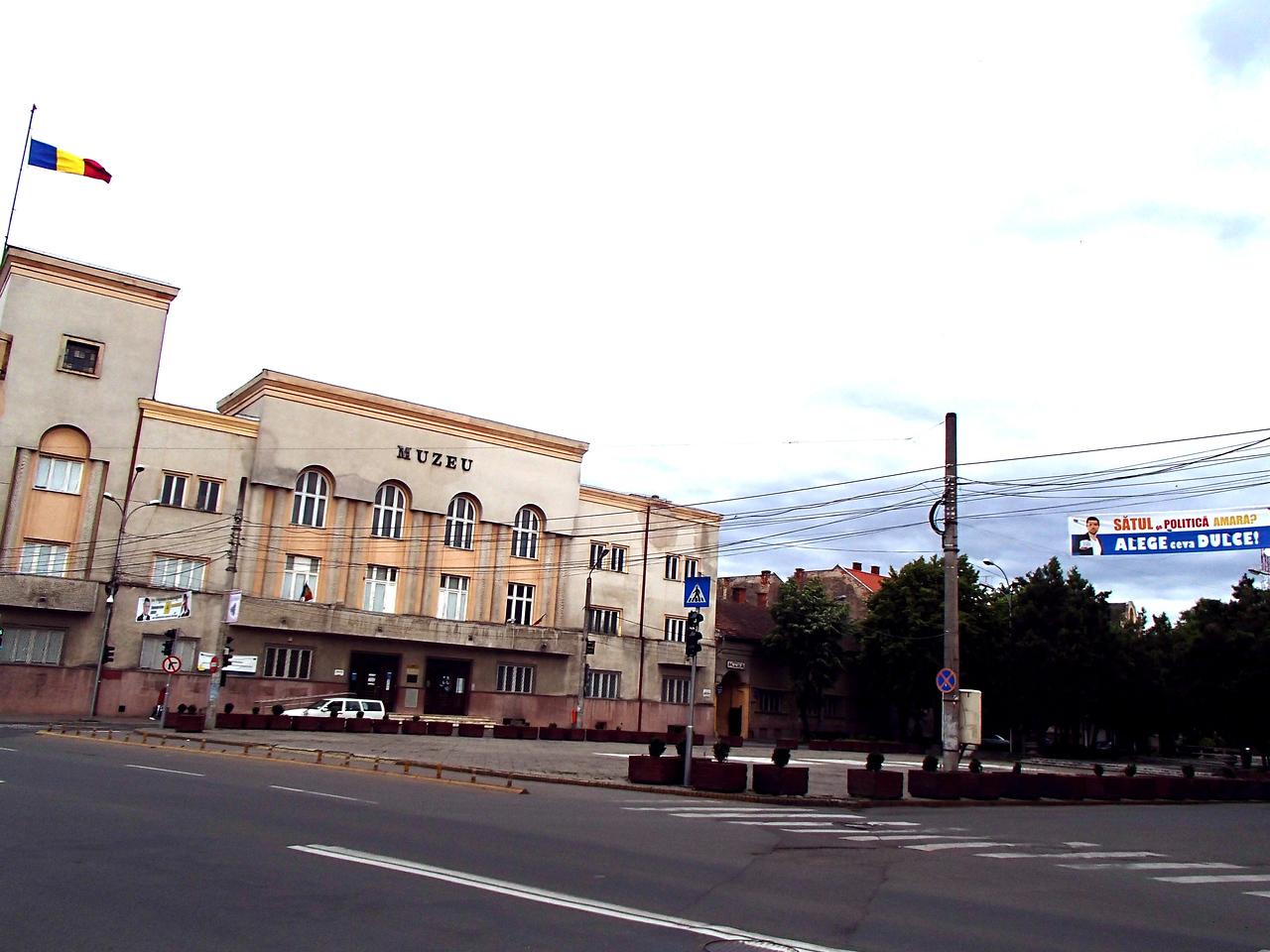 0114 Szatmar corner of Sugar ut and Arpad utca where we lived