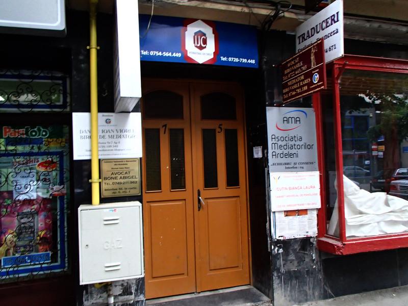 0134 Szatmar entrance to Vera Spitz house