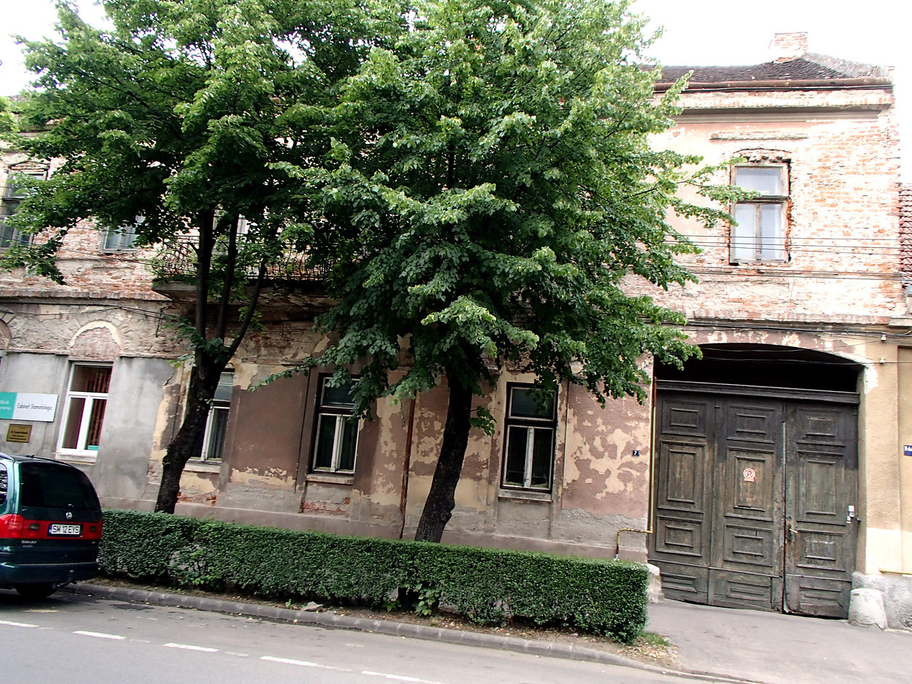 0118 Szatmar Farkas house Arpad  utca 11, or Strade republicii 11 both name and number have changed