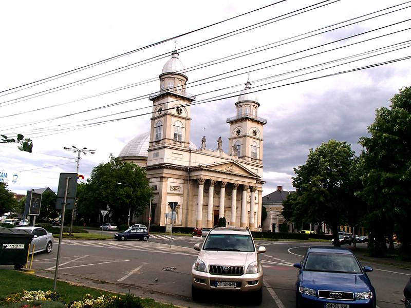0109 Szatmar Greek Orthodox church center of town
