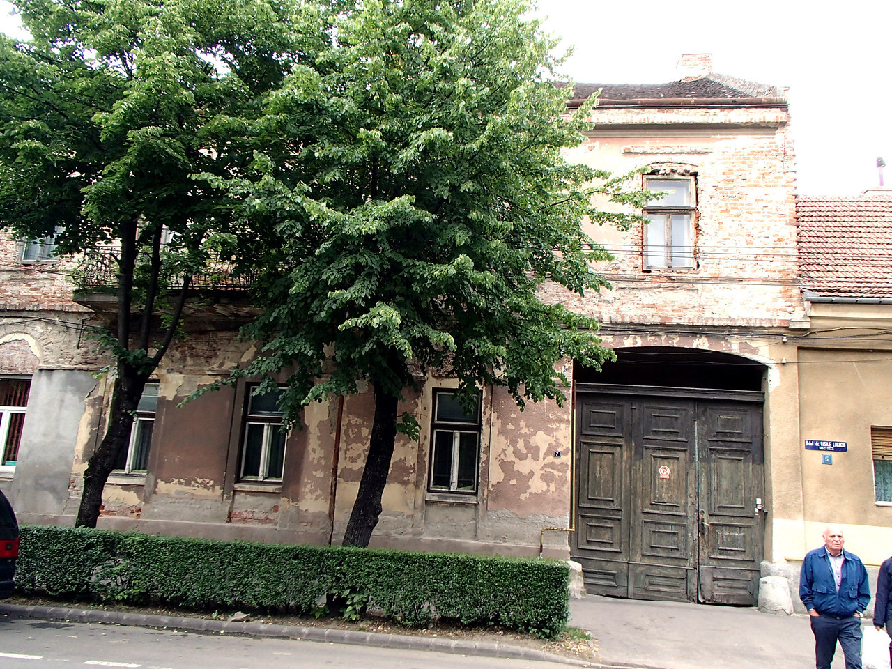 0117 Szatmar Farkas house Arpad  utca 11, or Strade republicii 11 both name and number have changed