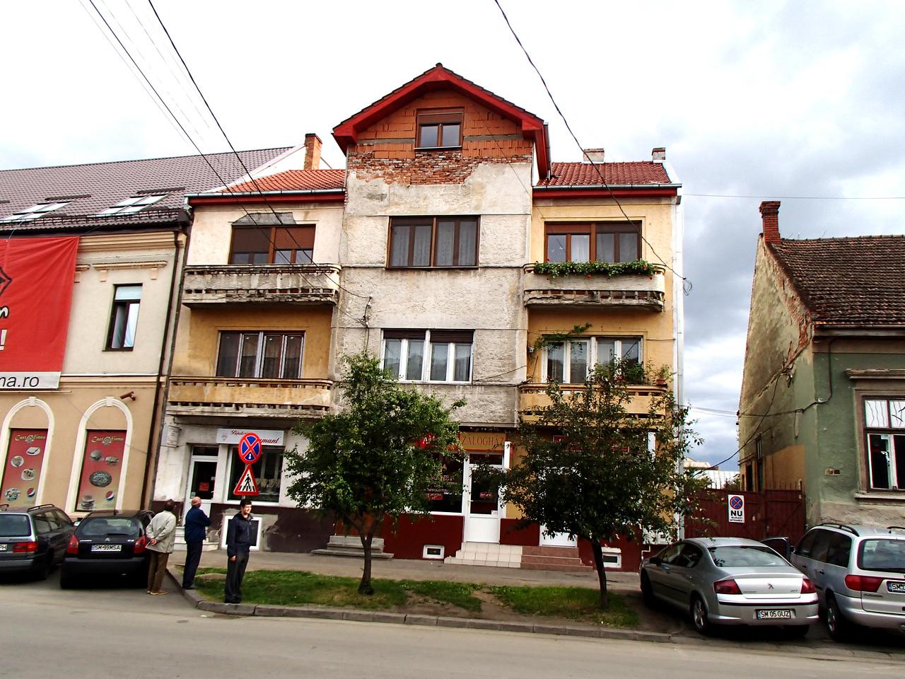 0098 Szatmar Kolcsei utca 4, house of Ibi neni and Dezso bacsi