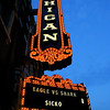 Michigan Theatre Marquee
