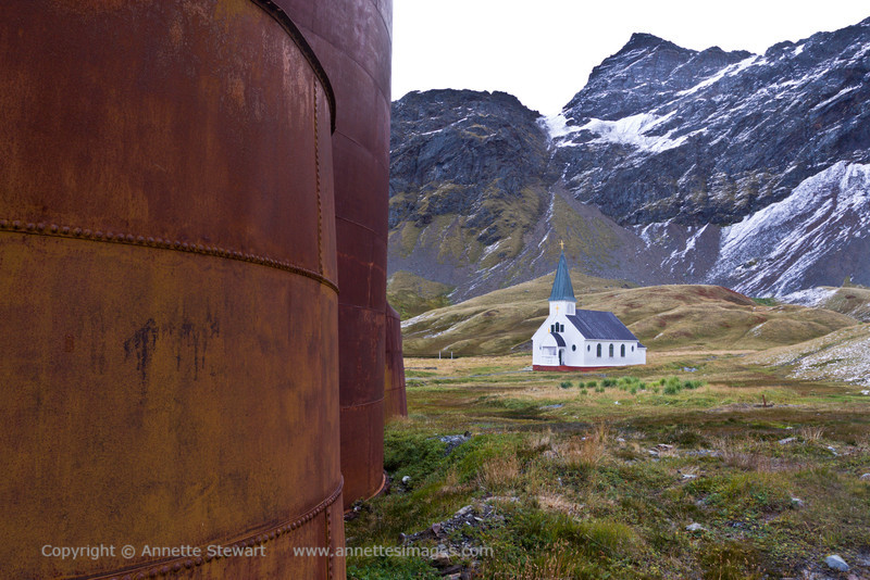 Whale oil tanks and church<br /> What were they thinking?