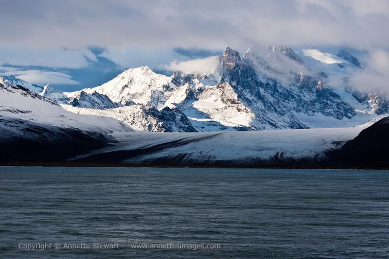 Glacier, Fortuna Bay