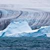 Glacier & iceberg, Drygalski Fjord