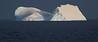 El Oasis. Durante el verano antártico, los grandes témpanos de hielo continental a la deriva en alta mar se convierten en punto de reunión y refugio de los pingüinos. Un agradable oasis en el inmenso mar helado y lleno de peligros. Ver en tamaño original (seleccionar en la columna flotante de la derecha)