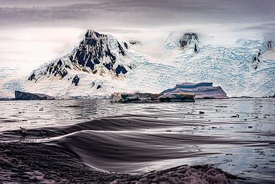 Antarctic Glacier Copyright 2020 Steve Leimberg UnSeenImages Com