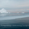Orne Harbour late afternoon, around sunset time, Antarctica Peninsula