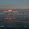 Antarctica Peninsula sunrise