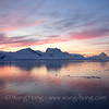 Antarctica Peninsula sunset