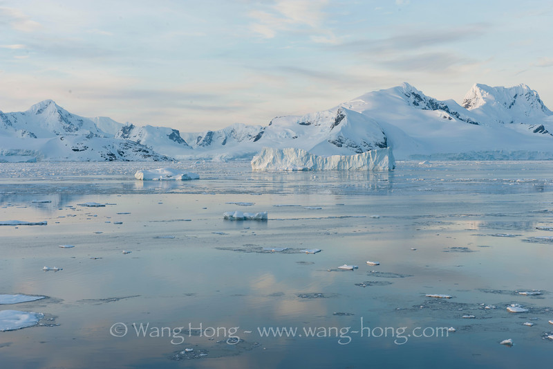 Antarctica Peninsula early morning
