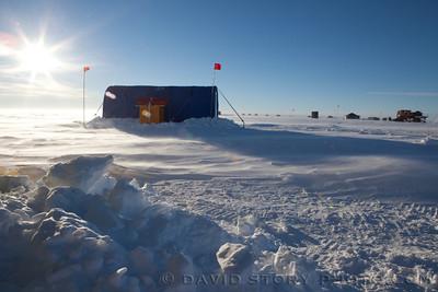 Pine Island Glacier Camp.