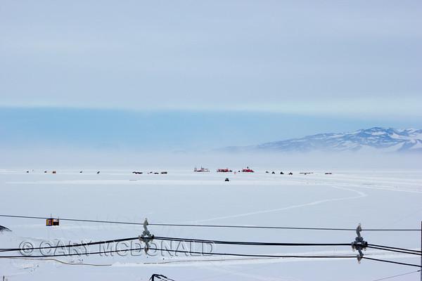 Antarctica Building the runway