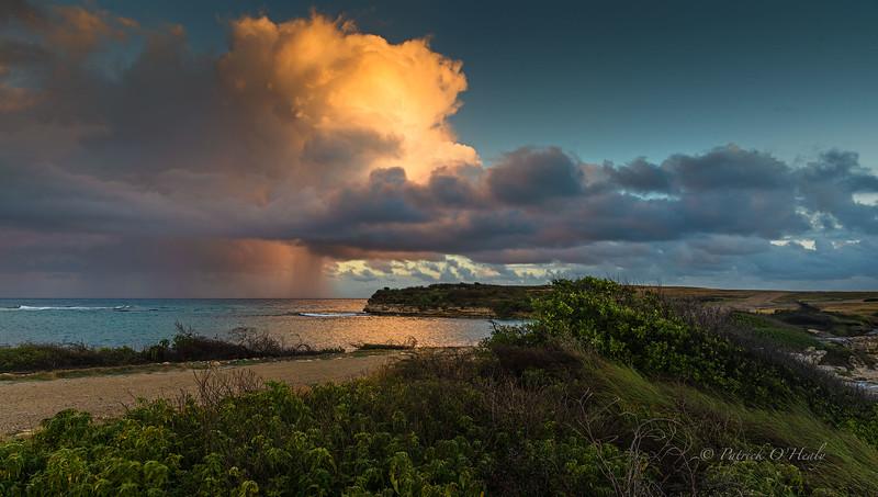 Antigua Rain at Day Break
