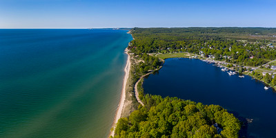 Arcadia Lake and Lake Michigan Summer