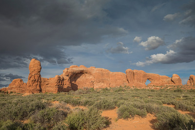 Windows Section of Arches