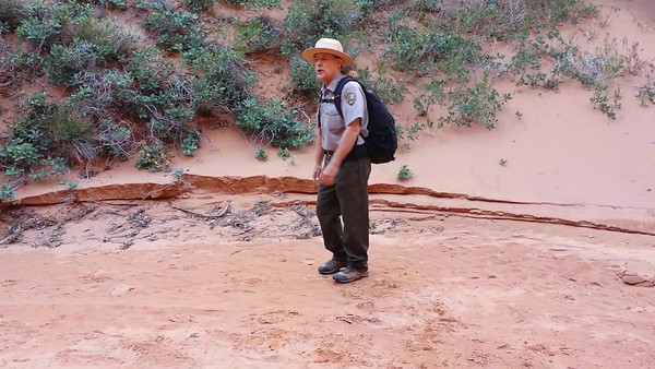Ranger-Led Hike Through Fiery Furnace