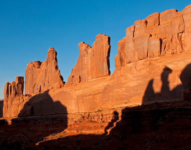 Wall Street, Arches National park, UT