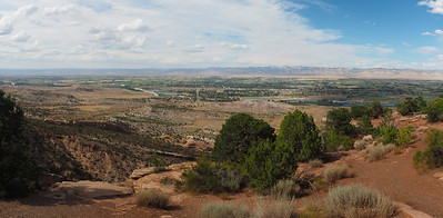 Grand Valley from Colorado National Monument Park