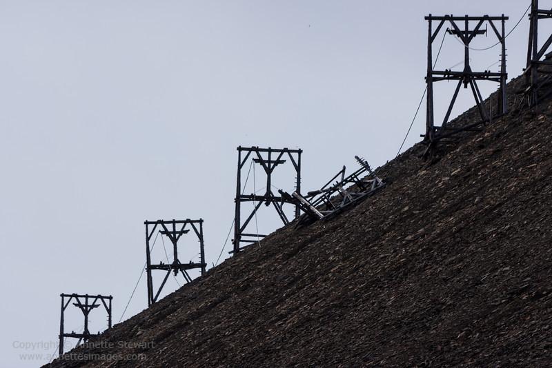 Mining remains, Longyearbyen