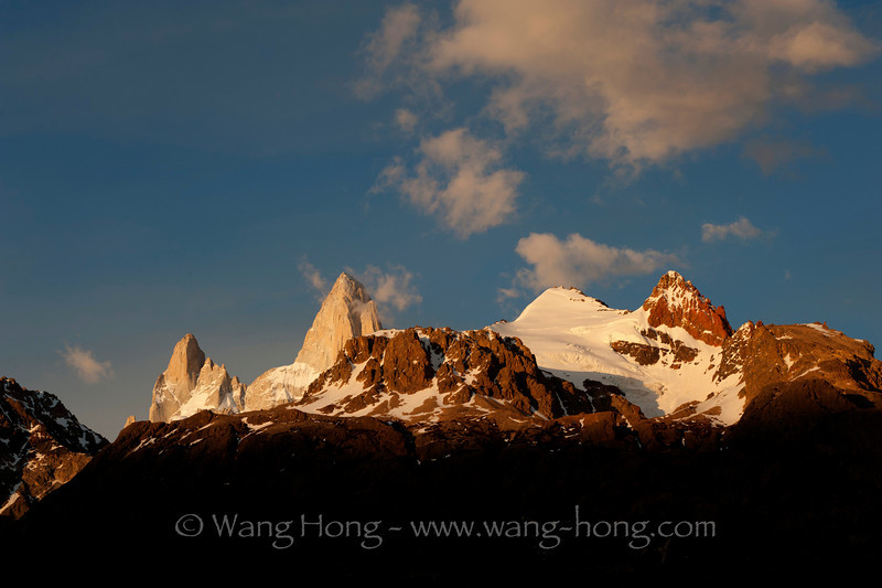 Mt. Fitzroy in early morning, November 2011.