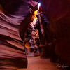 Upper Antelope Canyon, Arizona - 3rd November 2016 (Photographer: Nigel G Worrall)