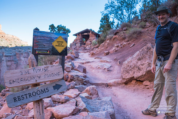 Bright Angel Trail Hike to Indian Garden (9 mile r/t)