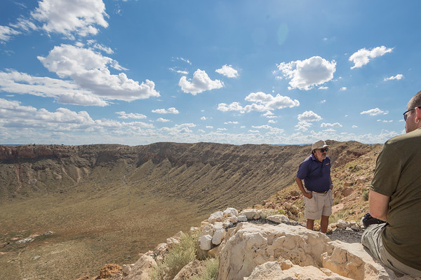On the Crater Tour