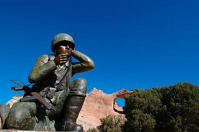 Code Talkers Monument Window Rock, AZ